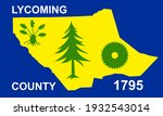 flag of lycoming county ... | Shutterstock .eps vector #1932543014