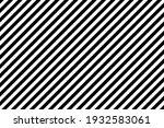 black and white diagonal... | Shutterstock .eps vector #1932583061