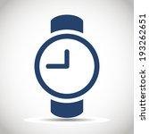 watch icon .   Shutterstock .eps vector #193262651