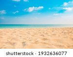 Closeup Of Sand On Beach And...