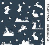 set of different bunnies...   Shutterstock .eps vector #1932668411