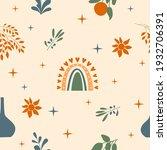 seamless pattern background.... | Shutterstock .eps vector #1932706391