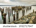 The Remaining Pilings Of An...