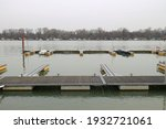 river with small marina and... | Shutterstock . vector #1932721061