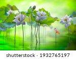 Fine Art Beautyful White Lotus...