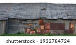 Old Aged Weathered Wooden Shack ...