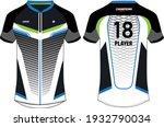 sports jersey t shirt design... | Shutterstock .eps vector #1932790034