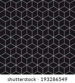 pattern cube background  | Shutterstock .eps vector #193286549