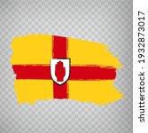 flag province ulster brush...