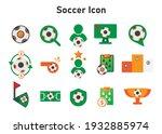 soccer icon. soccer...