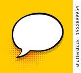 comics speech bubble for text...   Shutterstock .eps vector #1932899954