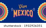 viva mexico  independence day ... | Shutterstock .eps vector #1932926351