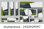 set of creative web banners of... | Shutterstock .eps vector #1932929597
