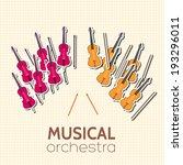 Sticker Music Instruments...