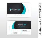 modern business card template...   Shutterstock .eps vector #1932988661