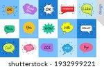 hello wow ok yes  speech...   Shutterstock .eps vector #1932999221