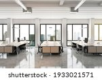 Modern Open Space Office With...