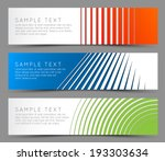 simple colorful horizontal... | Shutterstock .eps vector #193303634