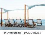 Summer Beach Background  Scene...