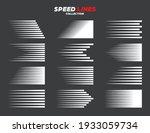 comic speed motion lines...   Shutterstock .eps vector #1933059734