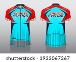 jersey design for cycling ... | Shutterstock .eps vector #1933067267