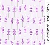lavender  flowers seamless...   Shutterstock .eps vector #1933078907