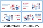 set of web banners on medical... | Shutterstock .eps vector #1933082597