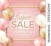 super sale limited time... | Shutterstock .eps vector #1933126244
