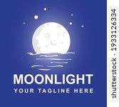 moonlight logo design template... | Shutterstock .eps vector #1933126334