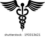 medical hospital health snake... | Shutterstock .eps vector #193313621