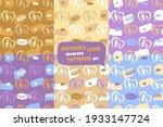 mother s love seamless patterns ...   Shutterstock .eps vector #1933147724