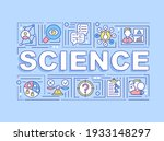 science word concepts banner....