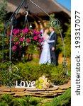 wedding flowers bouquet with... | Shutterstock . vector #193317077