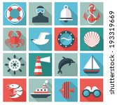 adventures,anchor,beacon,bell,binoculars,boat,crab,cruise,design,discovery,diver,dolphin,element,fish,flat