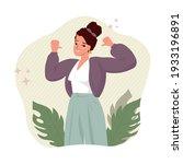 self pride  self acceptance ... | Shutterstock .eps vector #1933196891