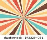 summer retro burst vintage... | Shutterstock .eps vector #1933294061