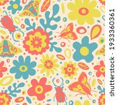 Cute Spring 60s Style Pattern...