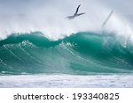 Surfer Wipe Out