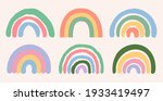 set of seperate colorful... | Shutterstock .eps vector #1933419497