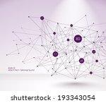 abstract vector polygonal... | Shutterstock .eps vector #193343054