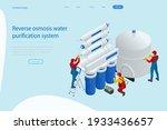 isometric installing or... | Shutterstock .eps vector #1933436657