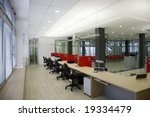 interior of a workplace | Shutterstock . vector #19334479