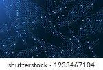 circuit board technology...   Shutterstock .eps vector #1933467104