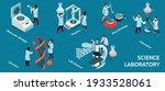 isometric science laboratory... | Shutterstock .eps vector #1933528061