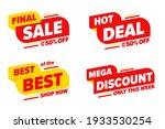 final sale hot deal mega... | Shutterstock .eps vector #1933530254