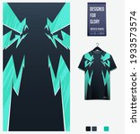 fabric textile design for sport ... | Shutterstock .eps vector #1933573574