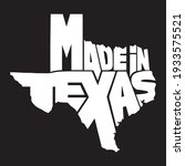 made in texas design black and... | Shutterstock .eps vector #1933575521