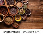 Small photo of Herbal medicine concept. Production of herbal medicines from natural or processed raw materials obtained from medicinal plants and their use in the prevention and treatment of diseases