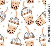seamless pattern with bubble... | Shutterstock .eps vector #1933625114