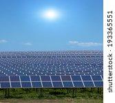 solar energy panels against... | Shutterstock . vector #193365551